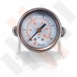 Oluve inbouw manometer Ø 40mm | Oluve Hulpluchtvering