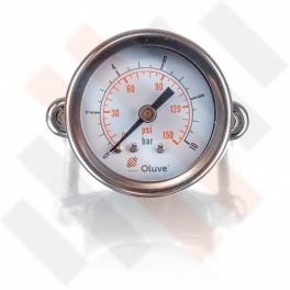 Inbouw manometer Ø 50mm | Hulpluchtvering