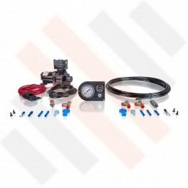 Compressorset Thomas 319 | carbon-look manometerpaneel met enkele manometer