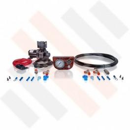 Compressorset Thomas 319 | wortelnoten mat manometerpaneel met enkele manometer