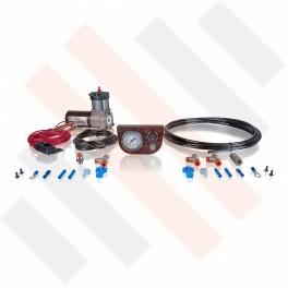 Compressorset Thomas 215 | wortelnoten mat manometerpaneel met enkele manometer