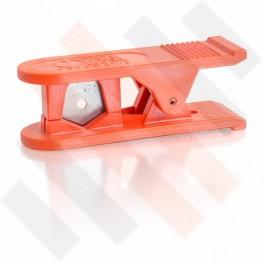 Oranje leidingknipper